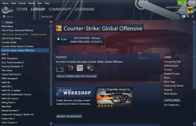Скин Plexed для клиента Steam