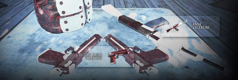 AN94 Valentine Deagle Valentine Infestation New Z