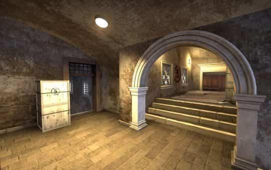 Туннели на карте Canals CS:GO